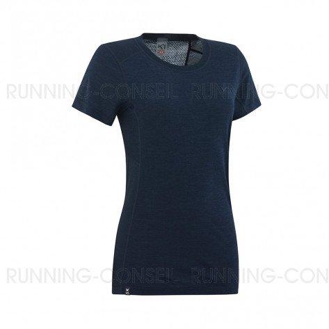 KARI TRAA Tee-shirt manches courtes TIKSE Femme | Nava | Collection Printemps-Été 2019
