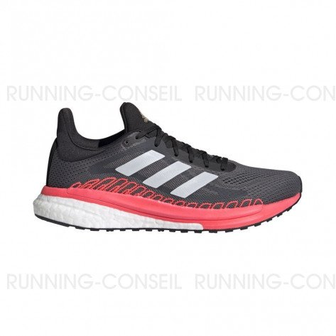 ADIDAS SOLARGLIDE 3 ST Femme - GREY FIVE / CRYSTAL WHITE / SIGNAL PINK