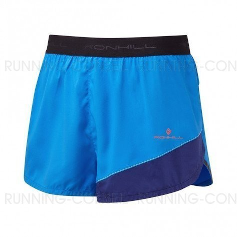 RONHILL SHORT RACER REVIVE STRIDE Homme   ELECTRIC BLUE/MIDNIGHT BLUE