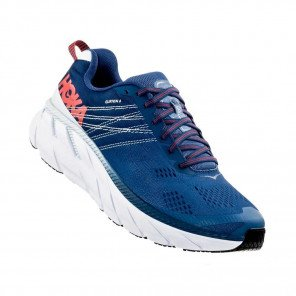 HOKA CLIFTON 6 WIDE HOMME | Ensign Blue / Plein Air