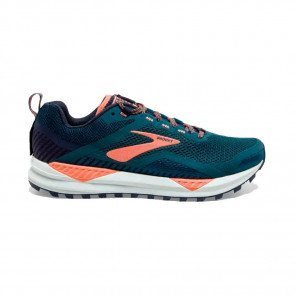 BROOKS CASCADIA 14 Femme | Desert Flower/Navy/Grey