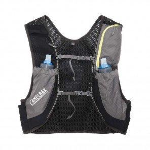 CAMELBAK Sac à dos d'hydratation Nano Vest 17oz - Quick Slow Flask | Graphite / sulphure spring