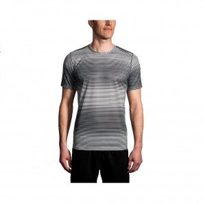 BROOKS TEE-SHIRT MANCHES COURTES GHOST HOMME | ASH HAZE