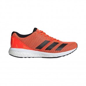 Adidas Adizero Boston 8 Femme - Orange/Noir