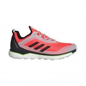 ADIDAS TERREX AGRAVIC FLOW Homme | Solar Red / Core Black / Grey Two