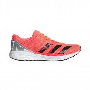 ADIDAS ADIZERO BOSTON 8 Homme | Signal Coral / Core Black / Cloud White