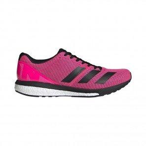 Adidas Adizero Boston 8 Femme - Rose/Noir
