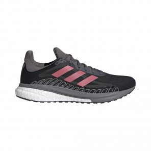 ADIDAS SOLARGLIDE ST 3 Homme - CORE BLACK/SIGNAL PINK/COPPER MET.