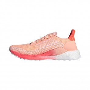 ADIDAS SOLAR BOOST 19 Femme - LIGHT FLASH ORANGE/CORE BLACK/SIGNAL PINK