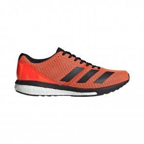 Adidas Adizero Boston 8 Homme - Orange/Noir