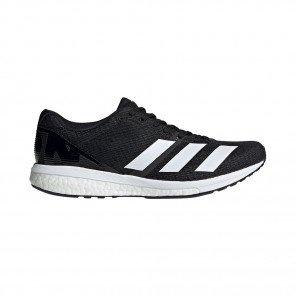 Adidas Adizero Boston 8 Homme - Noire/Blanc