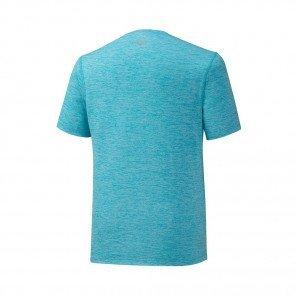 MIZUNO Tee-Shirt manches courtes IMPULSE CORE Homme | Peacock Blue