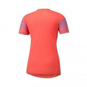 MIZUNO Tee-Shirt manches courtes AERO PREMIUM Femme | Hot Coral