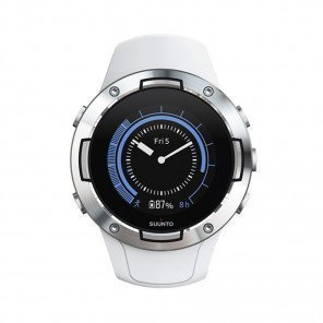 SUUNTO 5 White - Montre de sport GPS